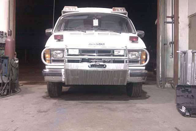 Ambulance Bumper