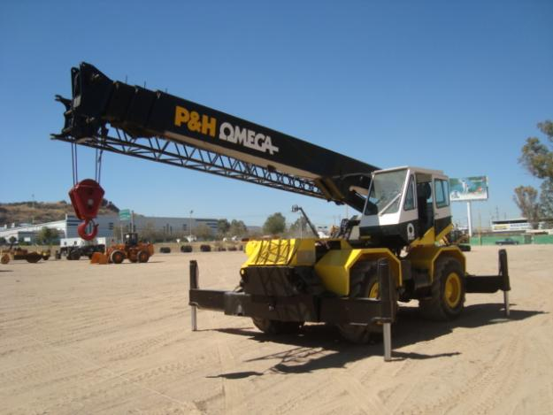 P&H Omega 20 Ton Rough Terrain Crane