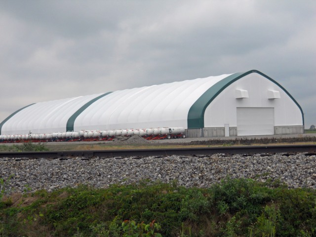 Steel and Fabric Shed