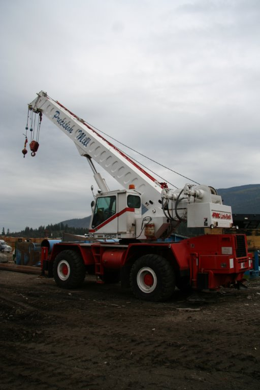 HSP-8025 Rough Terrain Crane